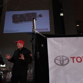 Toyota Corolla Interactive Projections