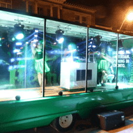 Heineken Mobile  Display Truck