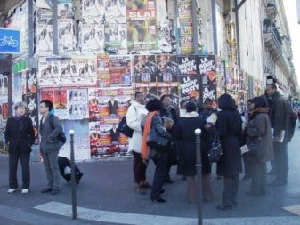 Street Marketing Paris