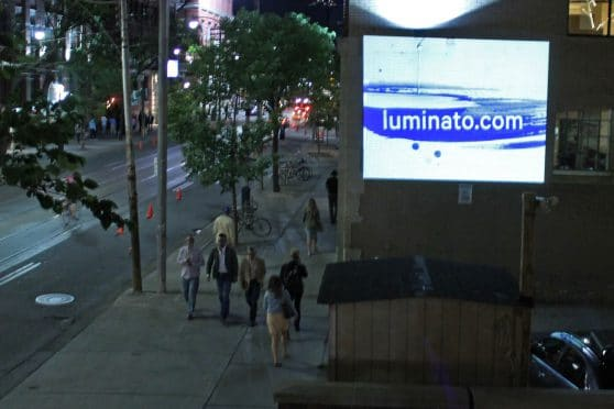 Luminato Projections