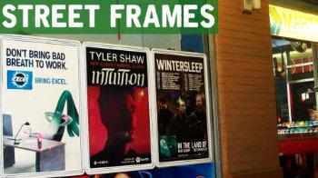 Guerilla Marketing  Street Frames