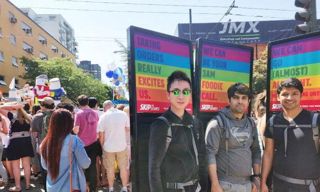 Guerilla Marketing Back Pack Billboards