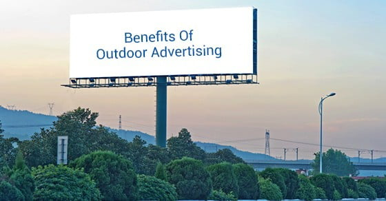 Image result for benefit outdoor advertising