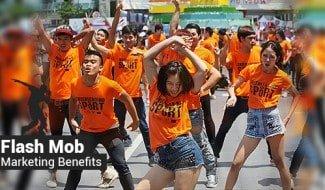 Flash Mob Marketing Benefits