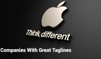 Companies With Great Taglines