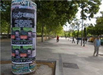 Street Advertising Services Barcelona