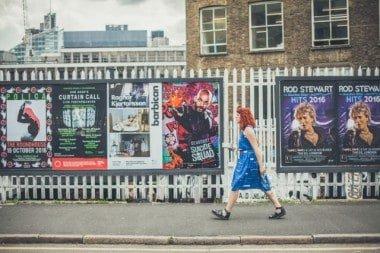 Street Advertising London