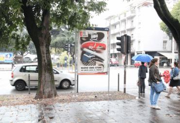 Street Advertising Rome