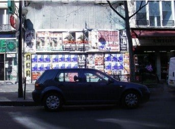 Street Advertising Services Paris