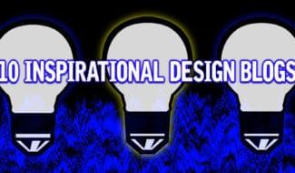 10 inspirational design blogs