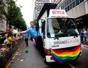 Netflix Truck