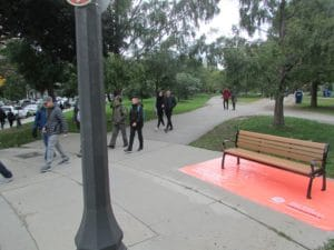 United Way Benches