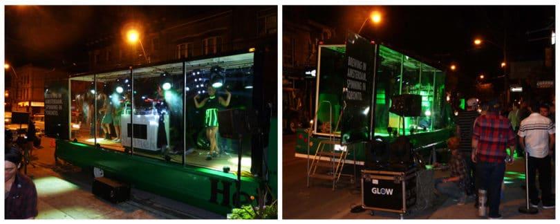 Heineken Display Truck