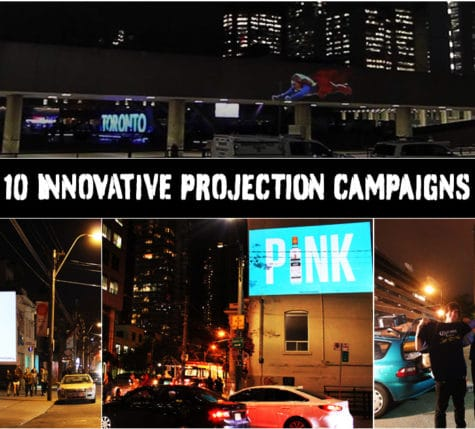 10 innovative projection campaigns