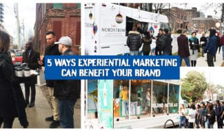 5 Ways Experiential Marketing Can Benefit your Brand