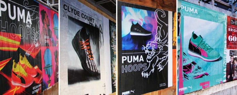 Puma Wild Postings