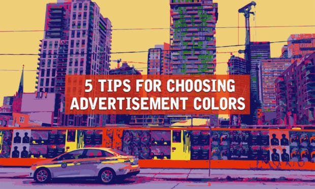 5 tips for choosing advertisement colors