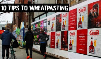 10 tips to wheatpasting