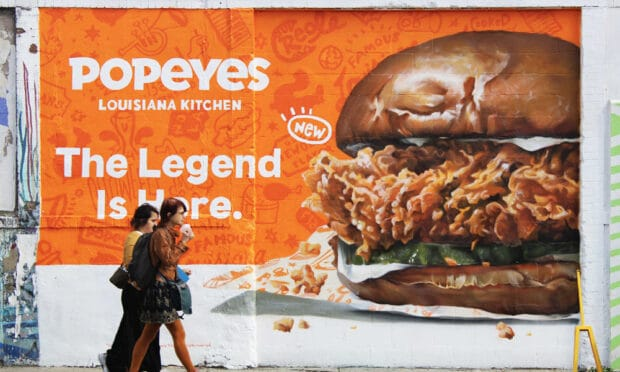 popeyes guerilla marketing campaign