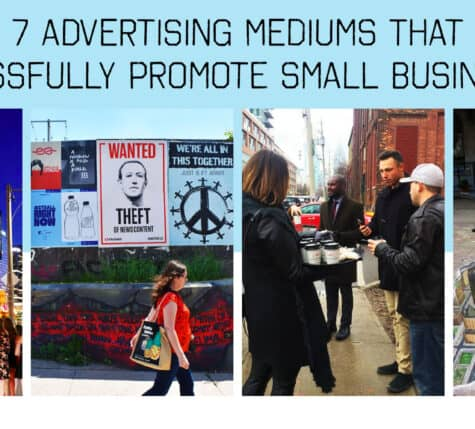 7 advertising mediums that successfully promote small businesses