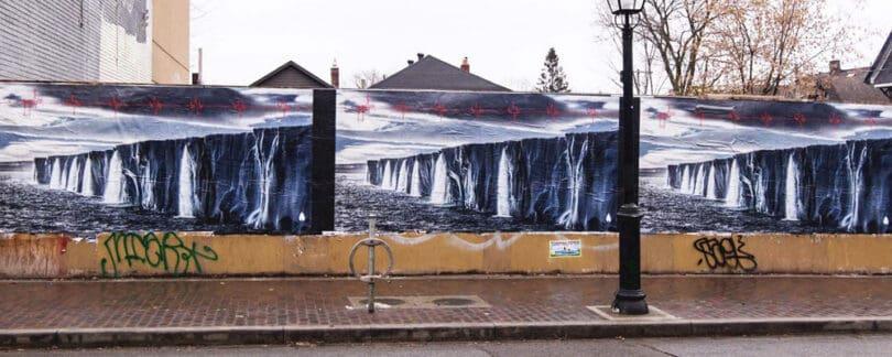 pearl jam Street Advertising Campaign