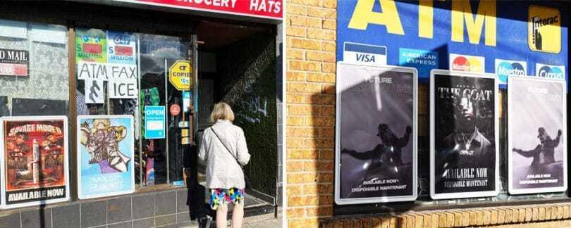 street frame advertising