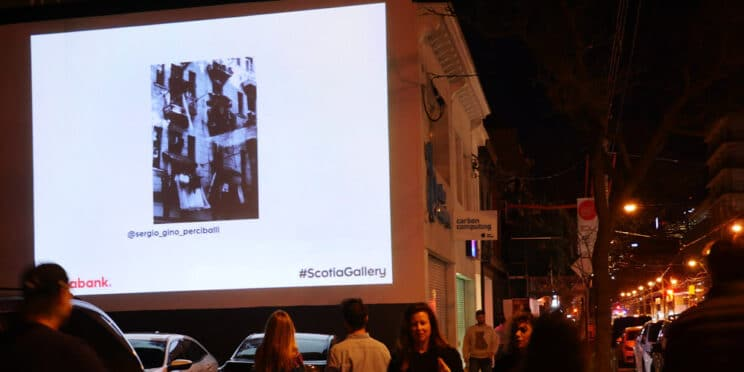Scotia Gallery Projection Marketing Campaign