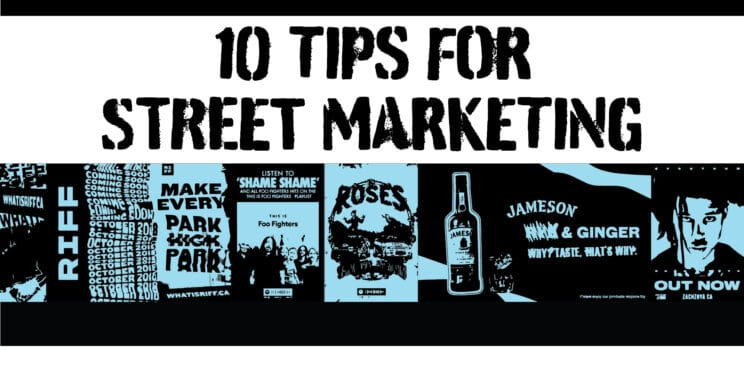 10 tips for street marketing