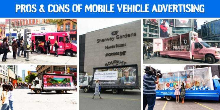 pros and cons of mobile vehicle advertising