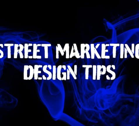 street marketing design tips