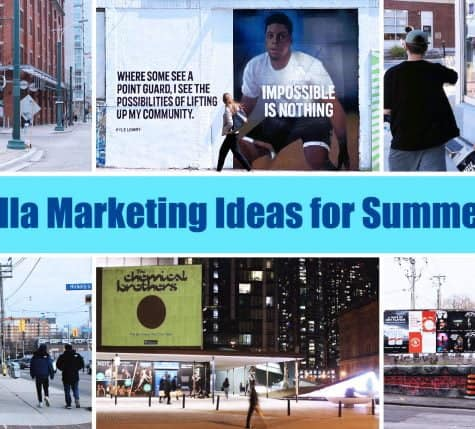guerrilla marketing ideas for summer 2021
