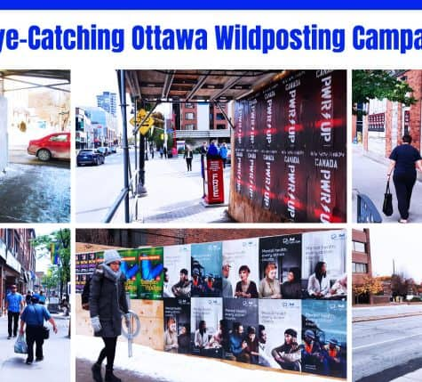 20 eye-catching ottawa wildposting campaigns