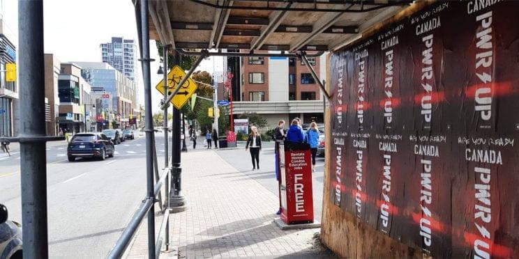 ACDC Ottawa Wildposting Campaign