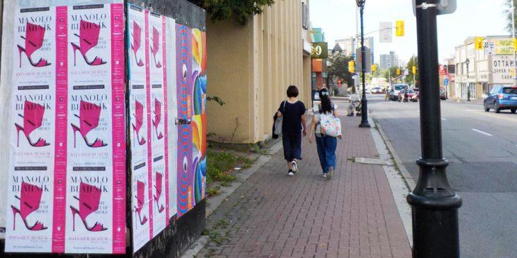 Bata Shoe Museum Ottawa Wildposting Campaign