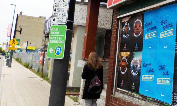 CannTrust Ottawa Wildposting Campaign